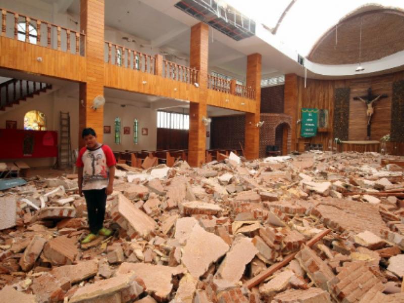 Siguen sin apoyos damnificados del terremoto del 2017 en Chiapas