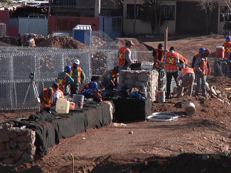 Siguen trabajos en parque de SEDATU