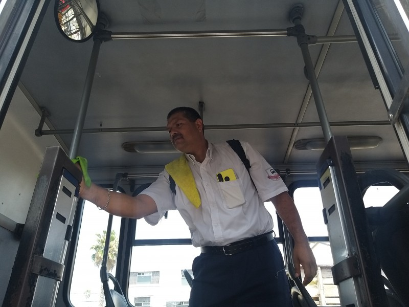 Siguen transportistas medidas vs. Covid-19