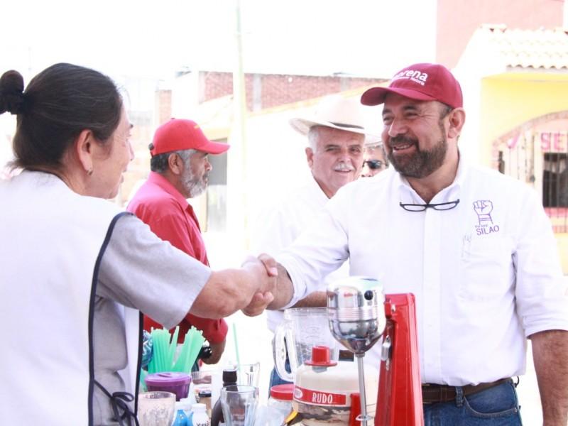 Silaoenses esperanzados con la nueva administración de Carlos García Villaseñor