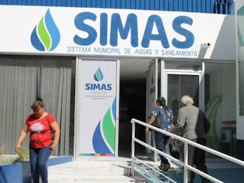 Simas Torreón espera recursos del proyecto Agua Saludable