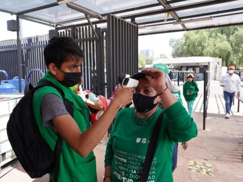 Simulacro de vacunación en Ciudad de México