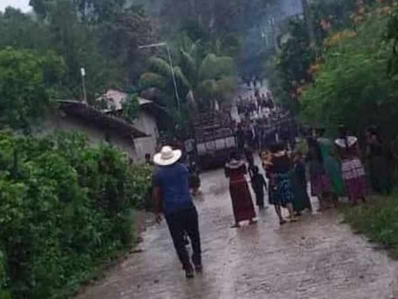Sin acceso a alimentos por conflicto en Pantelhó