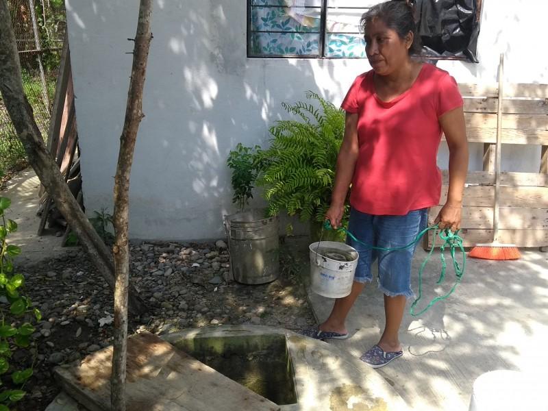 Sin acceso al agua potable