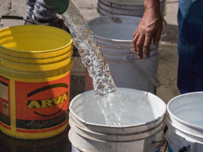 Sin agua 7 colonias de Zapopan