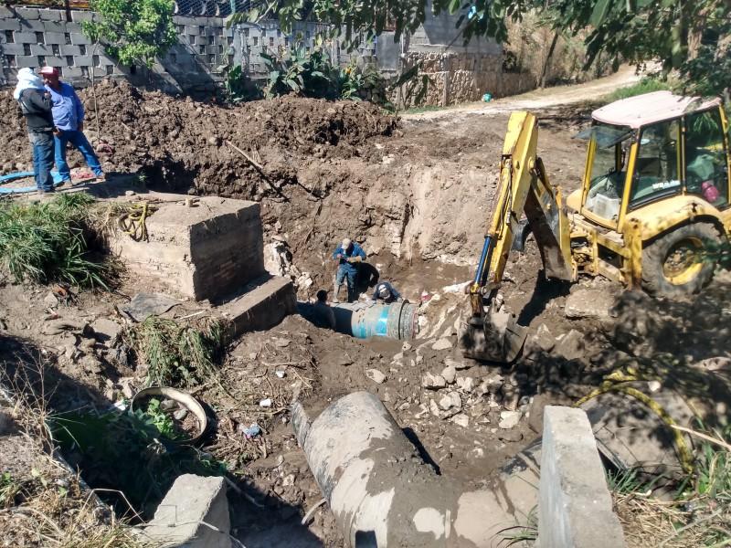 Sin agua más de 30 colonias en Tuxtla