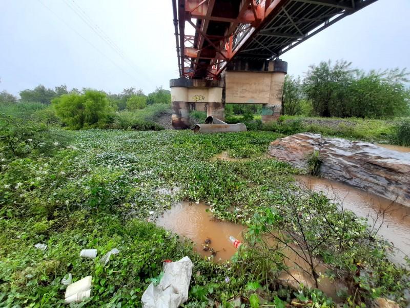 Sin atención problemática de aguas negras en río Tehuantepec