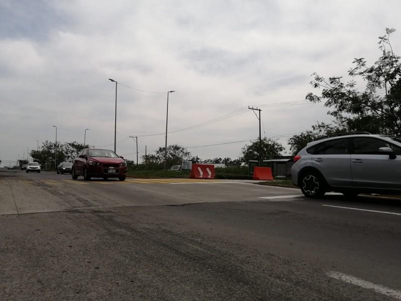 Sin concluir construcción de reductores en Riviera Veracruzana