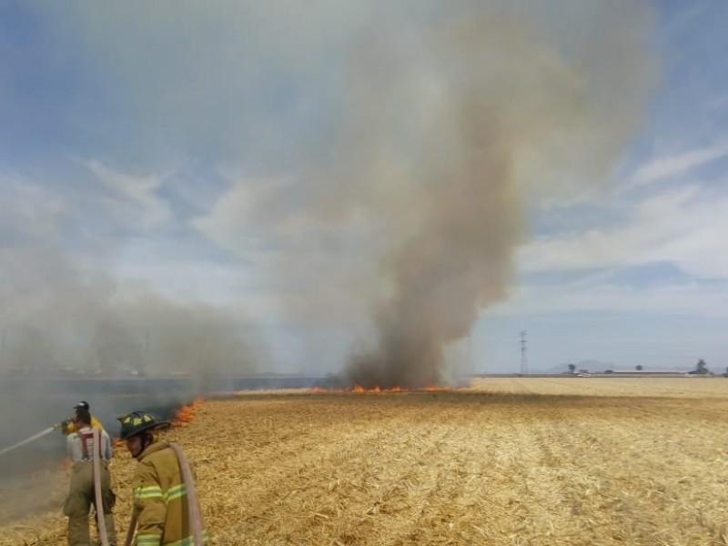 Sin control, quema de soca en la zona norte