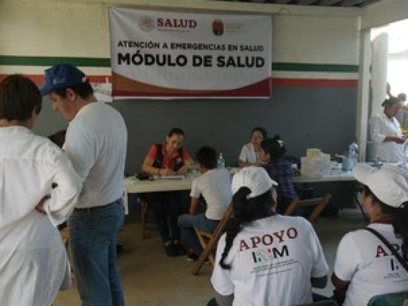 Sin crisis sanitaria ante presencia de migrantes