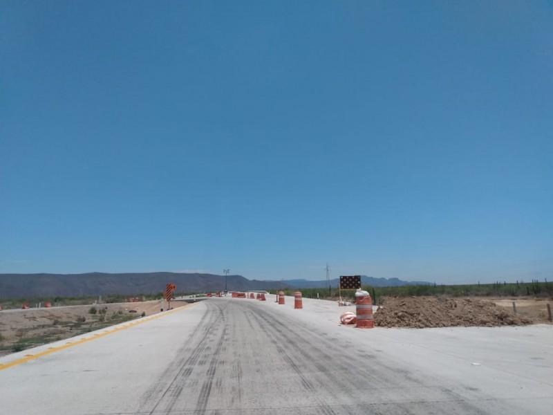 Sin culminar carretera Guaymas-Obregòn
