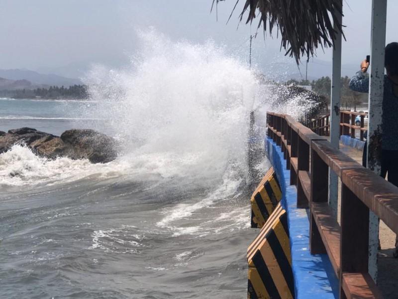 Sin daños por efectos de mar de fondo