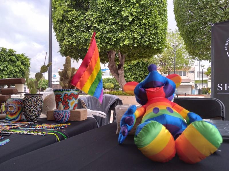 Sin discriminación ni expresiones homofóbicas; León recibió primera Feria LGBT