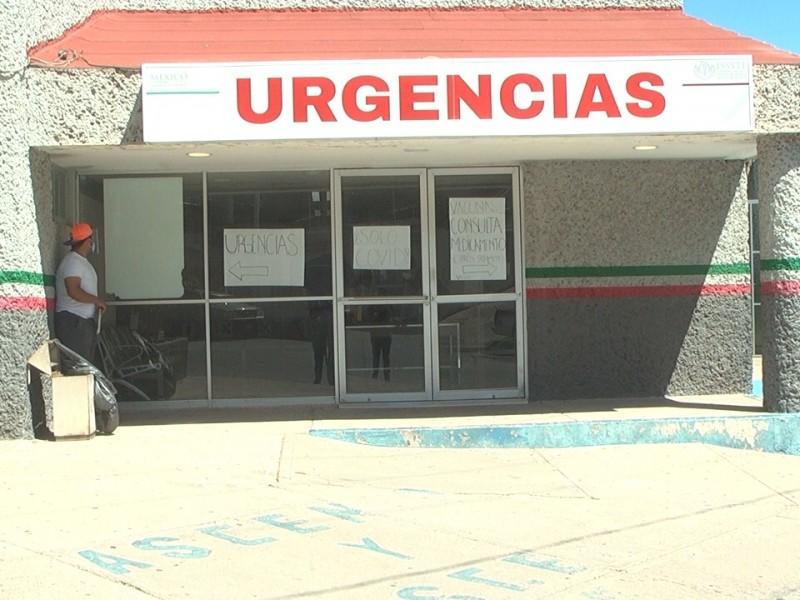 Sin equipo de ventilación en ISSSTE de Nogales