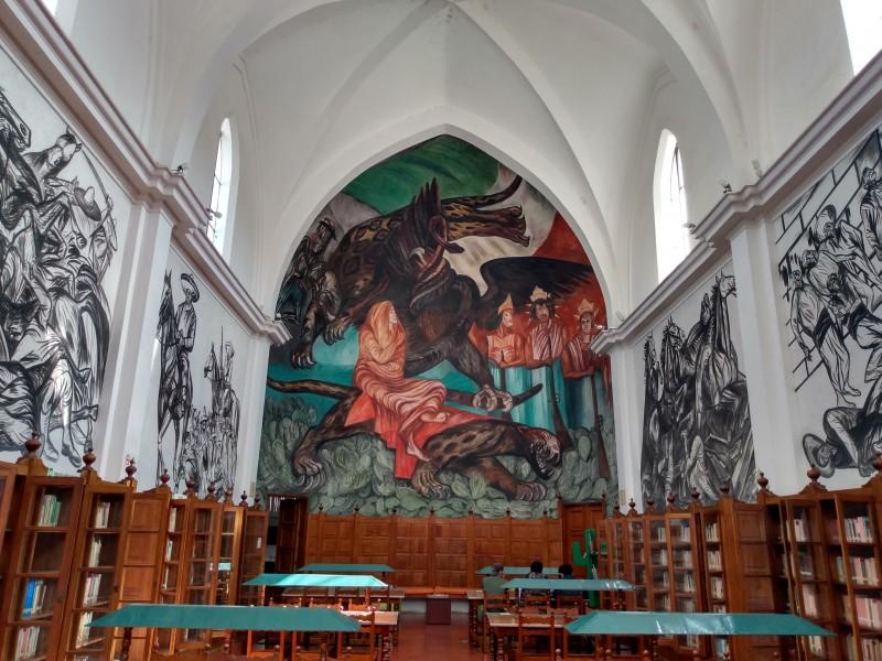 Sin fecha establecida para reiniciar actividades en biblioteca de Jiquilpan