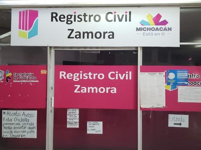 Sin fecha para reapertura de dependencias estatales en Zamora