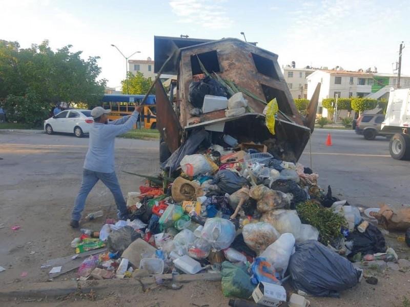 Sin fecha para regularizar recolección de basura en La Paz