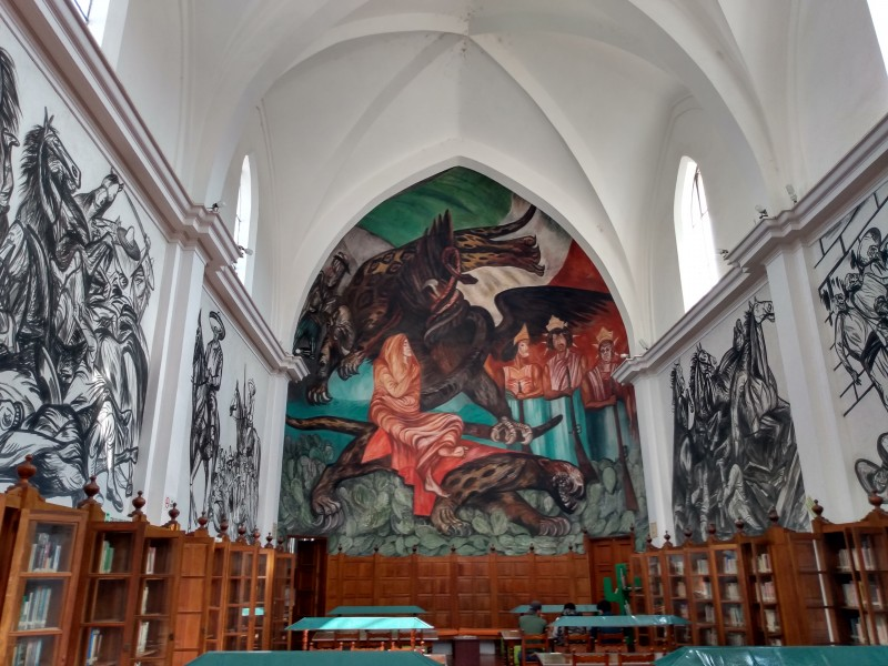 Sin fecha para retomar actividades en biblioteca pública de Jiquilpan