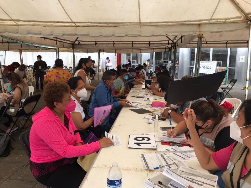 Sin filas, ni aglomeraciones sigue vacunación en Veracruz
