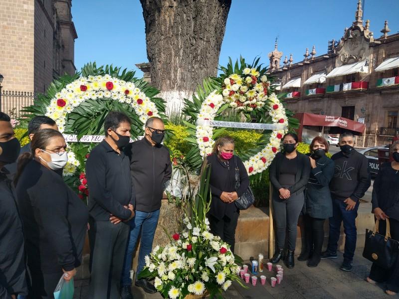 Sin justicia víctimas de atentado del 15 de septiembre
