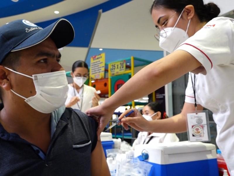 Sin miedo, se vacunan los