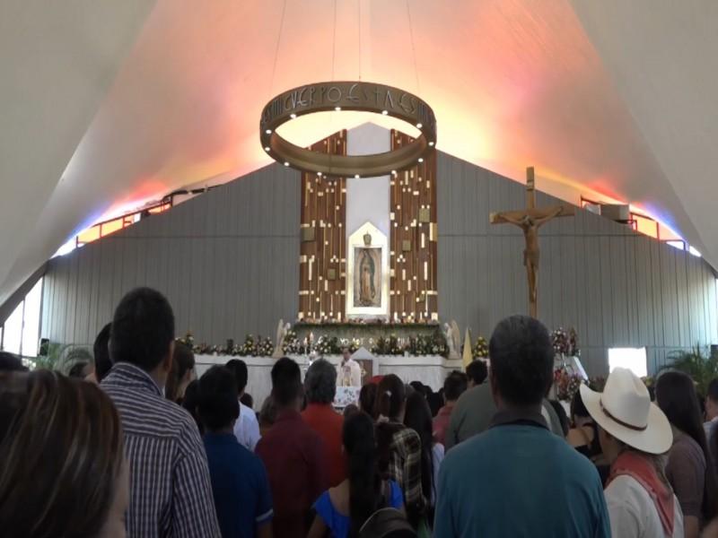 Sin música ni comercio, podría realizarse celebración a la Virgen