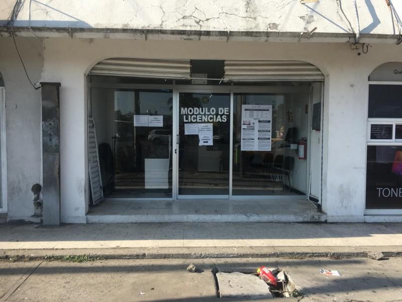 Meganoticias Sin Operar Módulos De Licencia En Veracruz