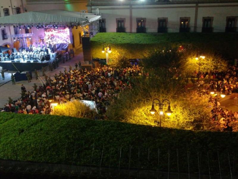 Sin permiso de realizar eventos masivos en la capital