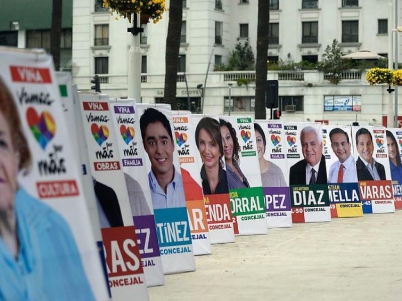 Sin propaganda electoral en vía pública para elecciones 2021