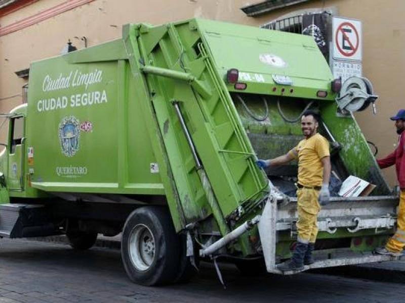 Sin recolección de basura el 25 y 1