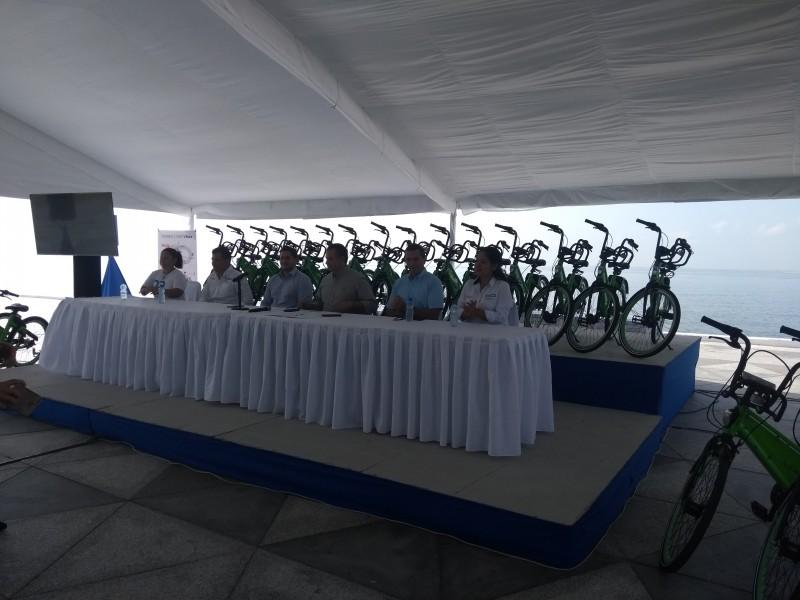 Sin reporte de robo de bicicletas ecológicas