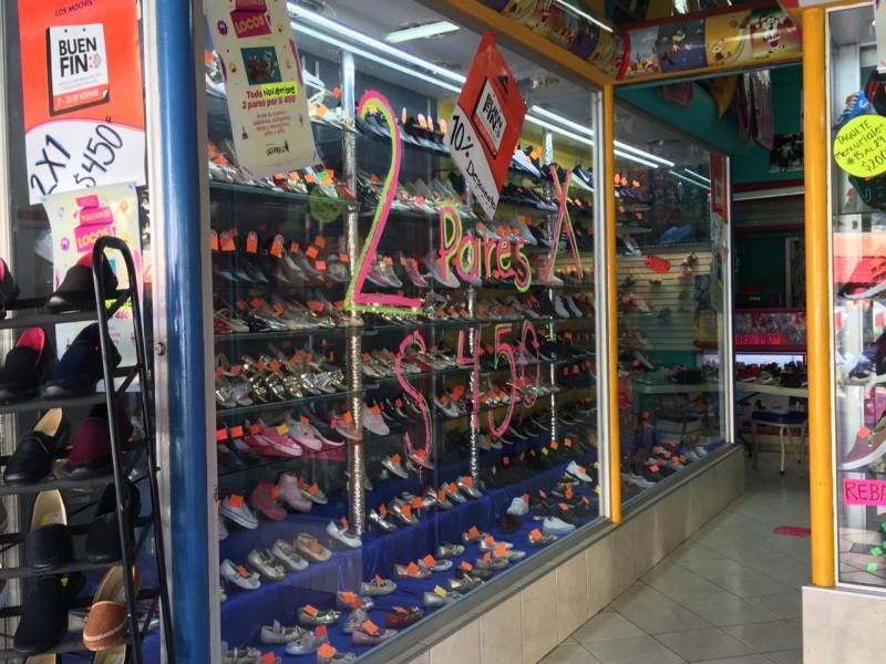 Sin repuntar ventas en comercios durante Buen Fin
