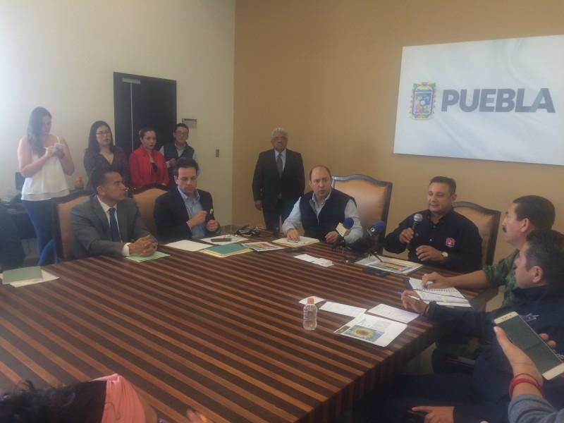 Sin riesgo, Amarrillo Fase III del Popocatépetl: PC