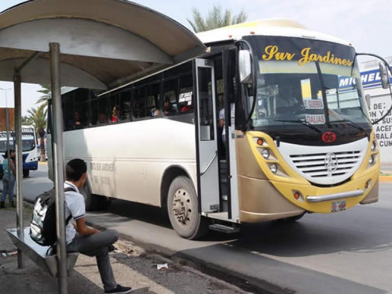 Sin seguimiento al mejoramiento del transporte público