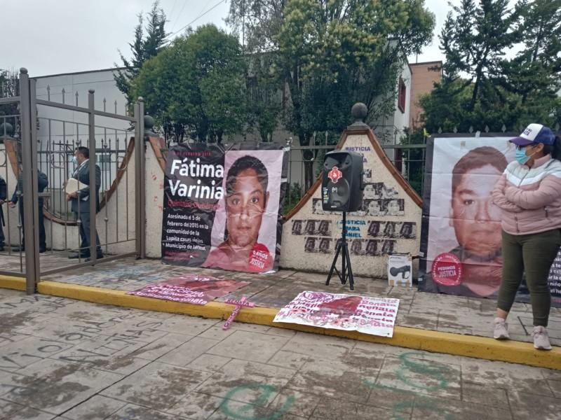 Sin sentencia a feminicida de Fátima