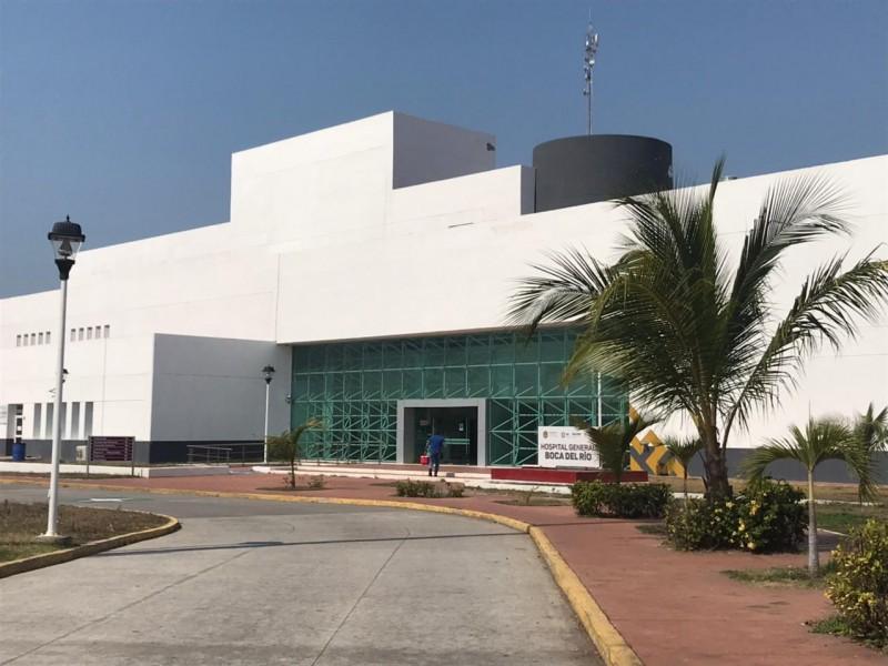 Sin servicio de aire acondicionado Hospital de Boca del Río