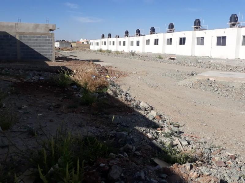 Sin servicios, así viven colonos en Guadalupe