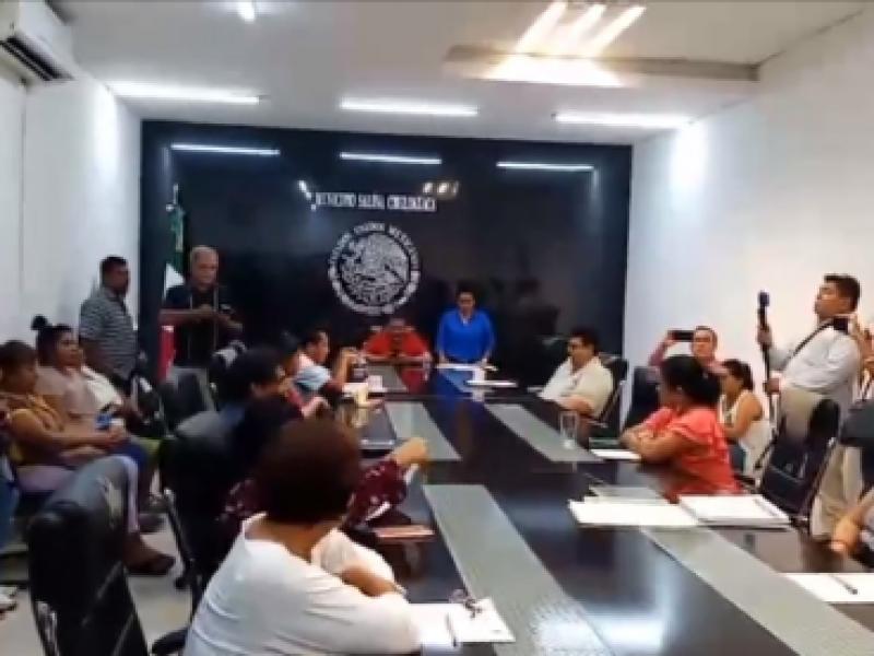 Sin sesiones de cabildo en Salina Cruz, se cumple 7meses