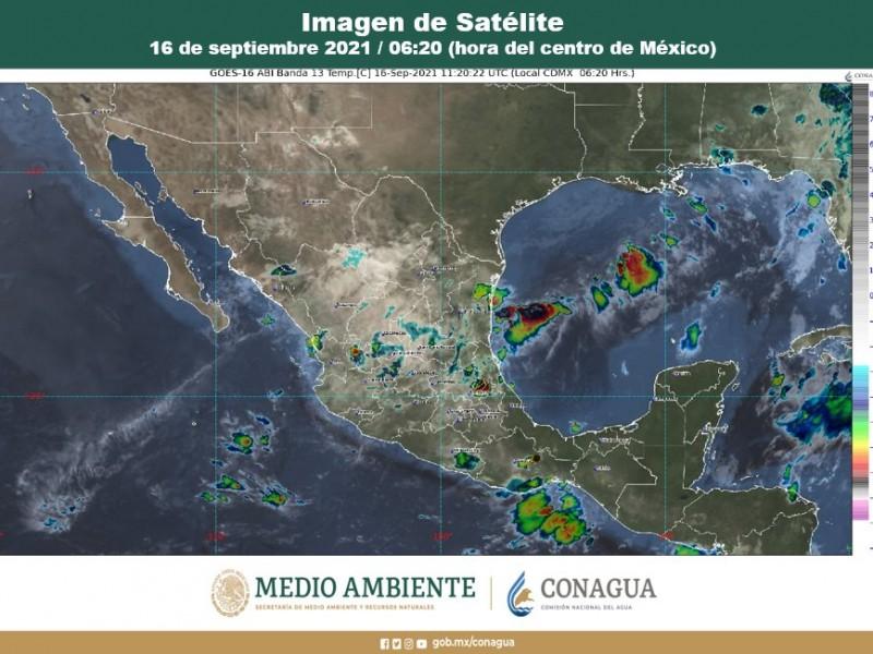 Sin soltar el paraguas...se esperan lluvias en el país: Conagua