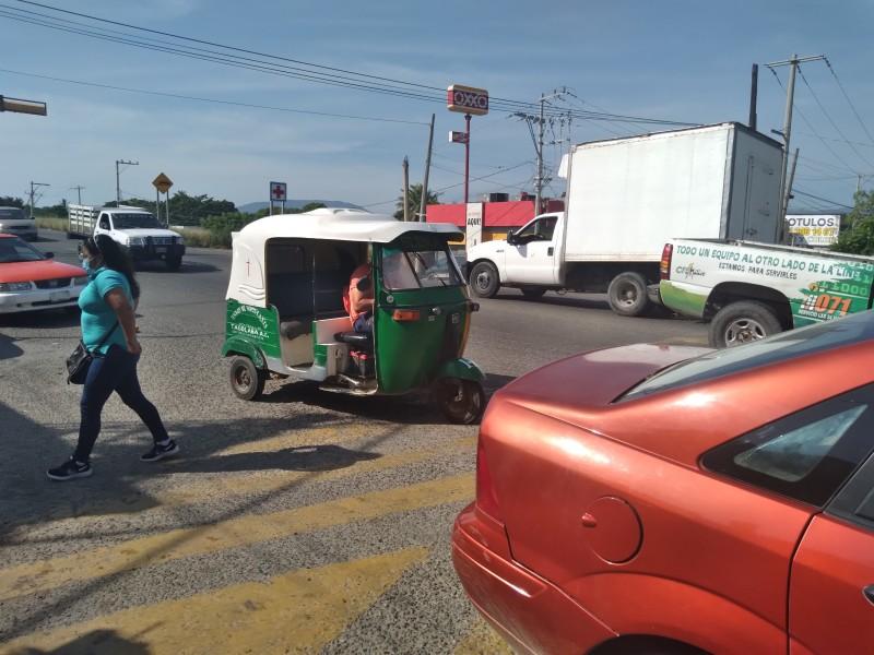 Sin tarifa regulada; pasaje varía en mototaxis de Tehuantepec
