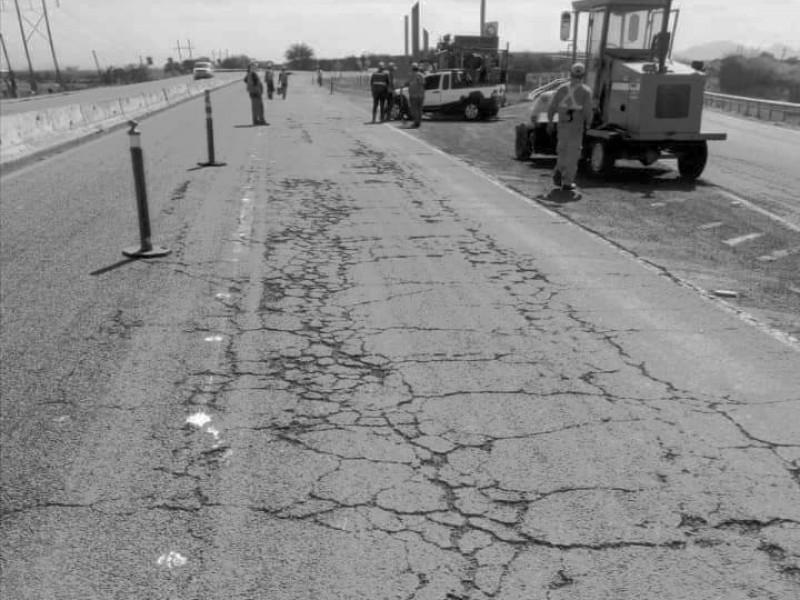 Sinaloa con las carreteras más caras y en malas condiciones