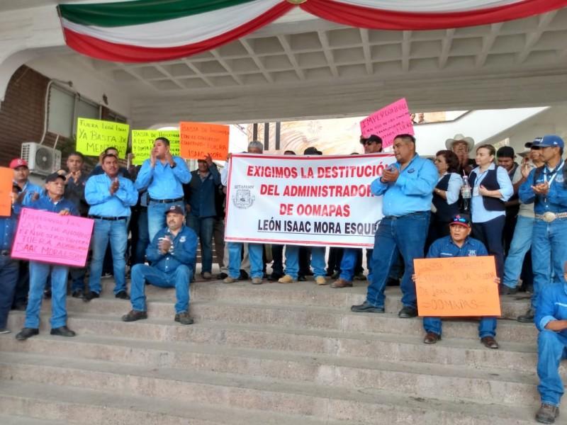 Sindicato de OOMAPASN denuncia actos de corrupciòn