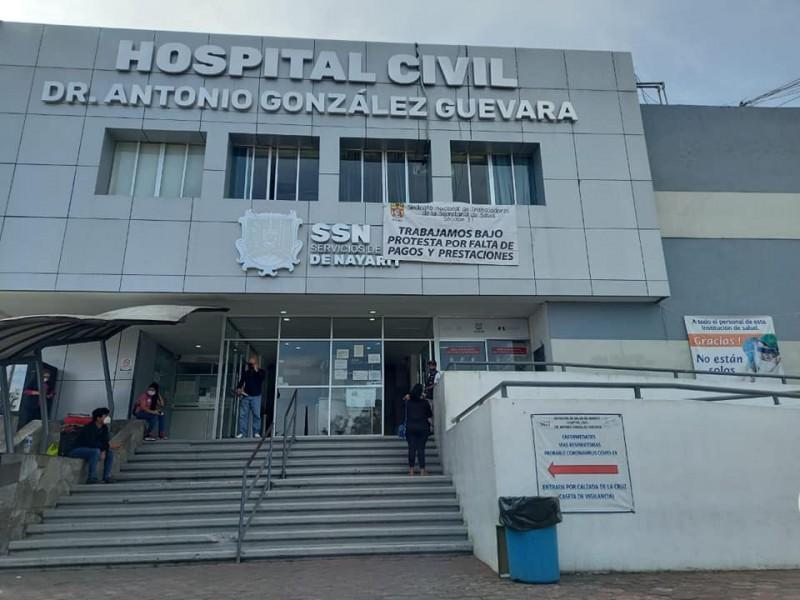 Sindicato de salud trabajara bajo protesta por falta de pagos