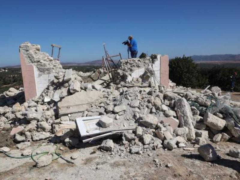 Sismo de 5.8 grados deja un muerto en Creta, Grecia