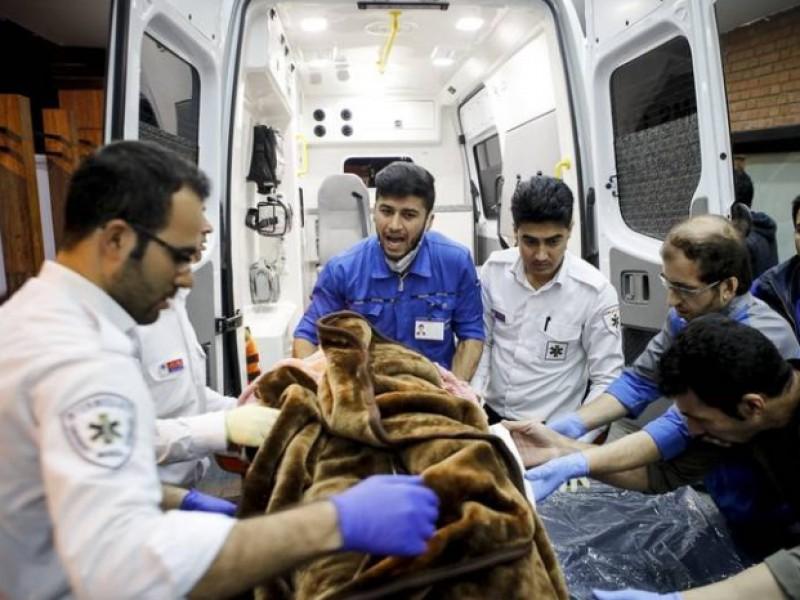 Sismo de 5.9 deja 25 heridos en Irán