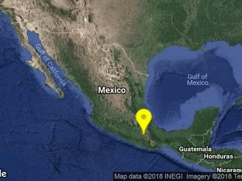 Sismo de 5.9 grados sacude Oaxaca