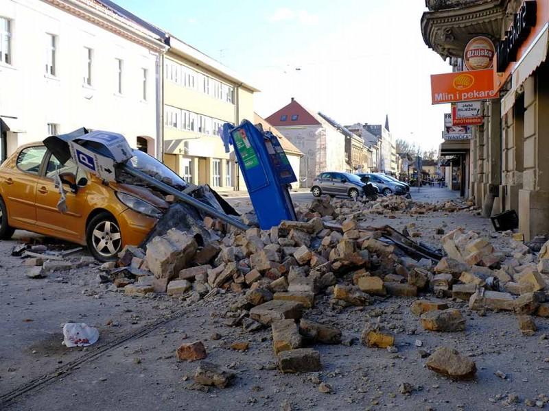 Sismo de 6.4 grados sacude a Croacia