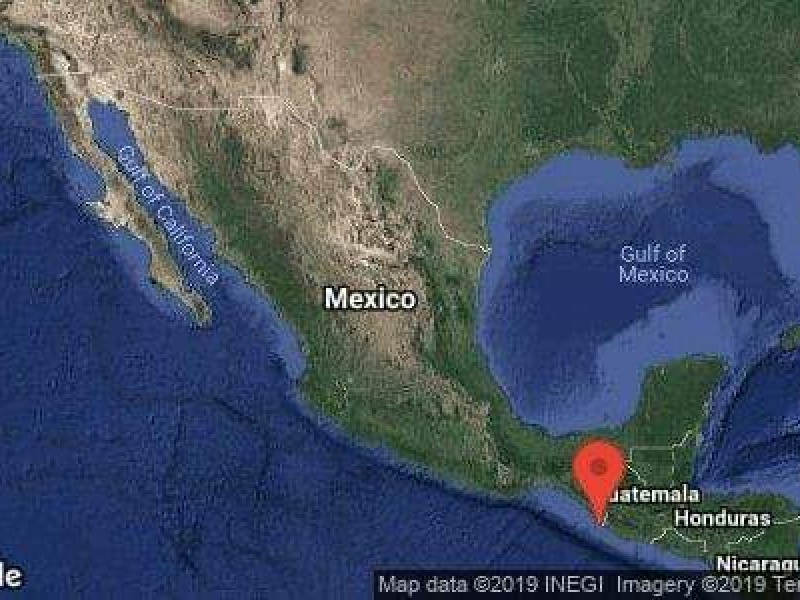 Sismo de 6.6 sacude a Chiapas