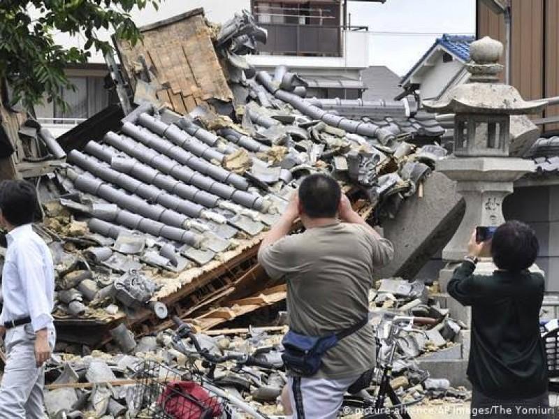 Sismo de 7.1 grados sacude Japón
