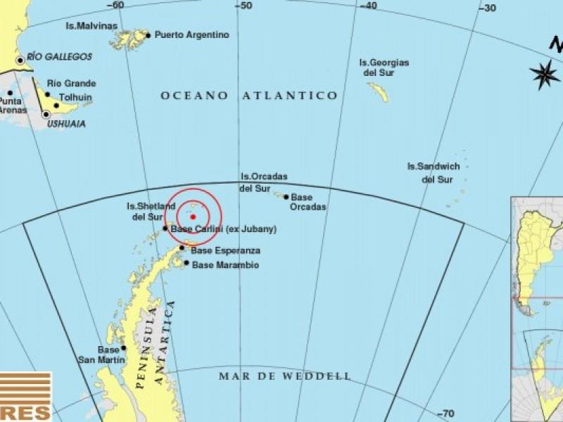 Sismo dE 7,1 sacude Antártida y Chile pide evacuar playas